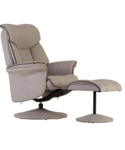 light grey fabric chair