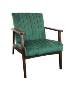 Logan Green Fabric Chair