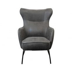 Mason Vintage Charcoal Armchair