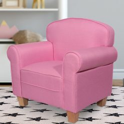Eva Kids Chair Pink