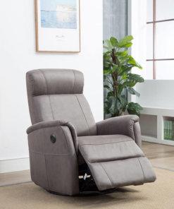 Marley Swivel Chair Grey