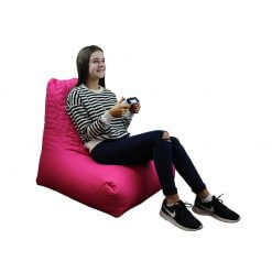 Quilted Bean Bag Pink