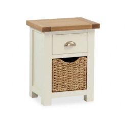 Suffolk Bedside Table & Basket