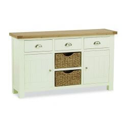 Suffolk Large Sideboard with Baskets