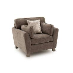 Cantrell 1 Seater Sofa - Mushroom