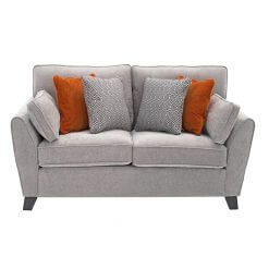 Cantrell 2 Seater Sofa - Silver