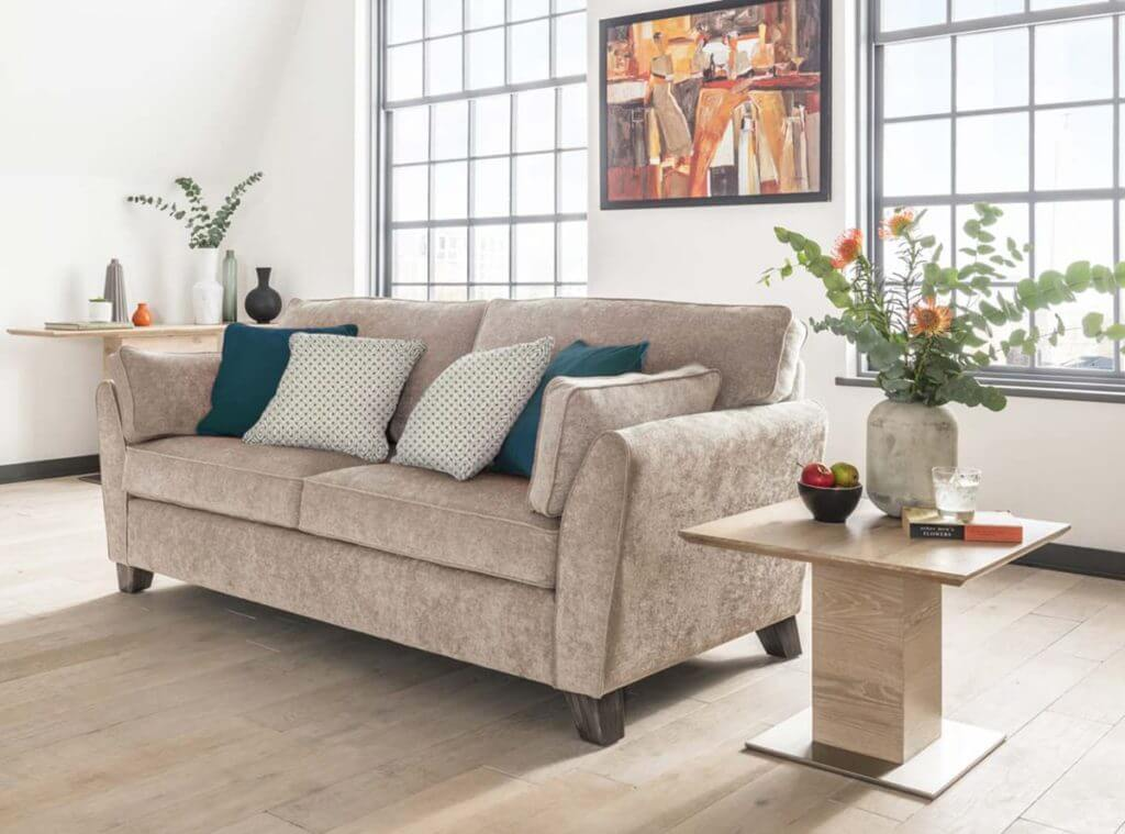 Cantrell 3 Seater Sofa Suite - Almond
