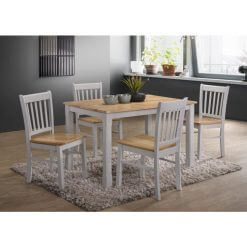 Bolton Grey & Oak Dining Set