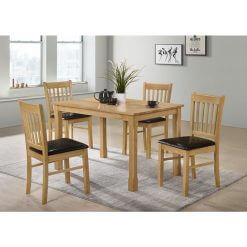 Bolton Oak Dining Set
