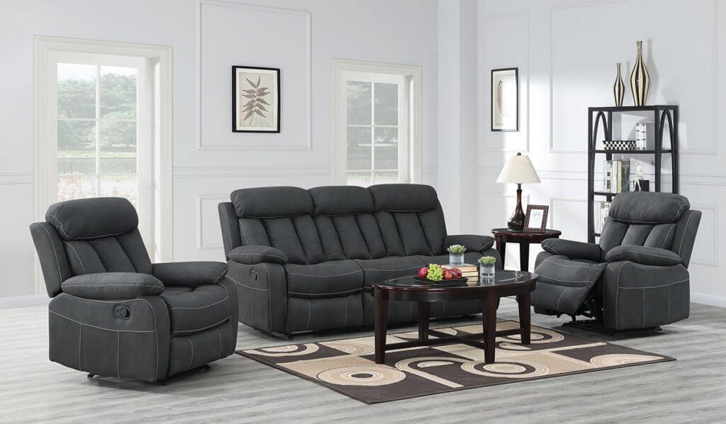 Janus Sofa Suite Dark Grey