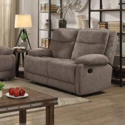 Jasper Sand 2 Seater Recliner Sofa