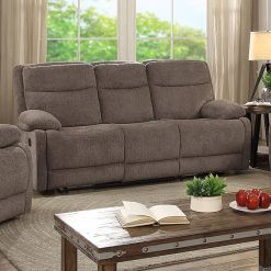 Jasper Sand 3 Seater Recliner Sofa