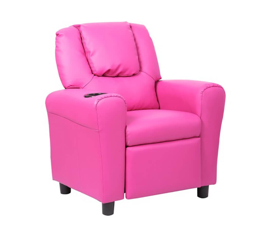 Kids Recliner - Pink