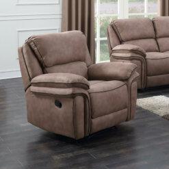 Preston Sand 1 Seater Recliner Sofa