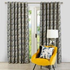 Sigma Navy Curtains