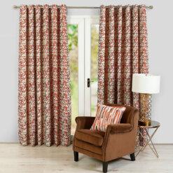 Sigma Orange Curtains