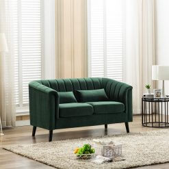 Meabh 2 Seater Sofa - Green