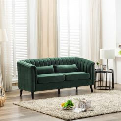 Meabh 3 Seater Sofa - Green
