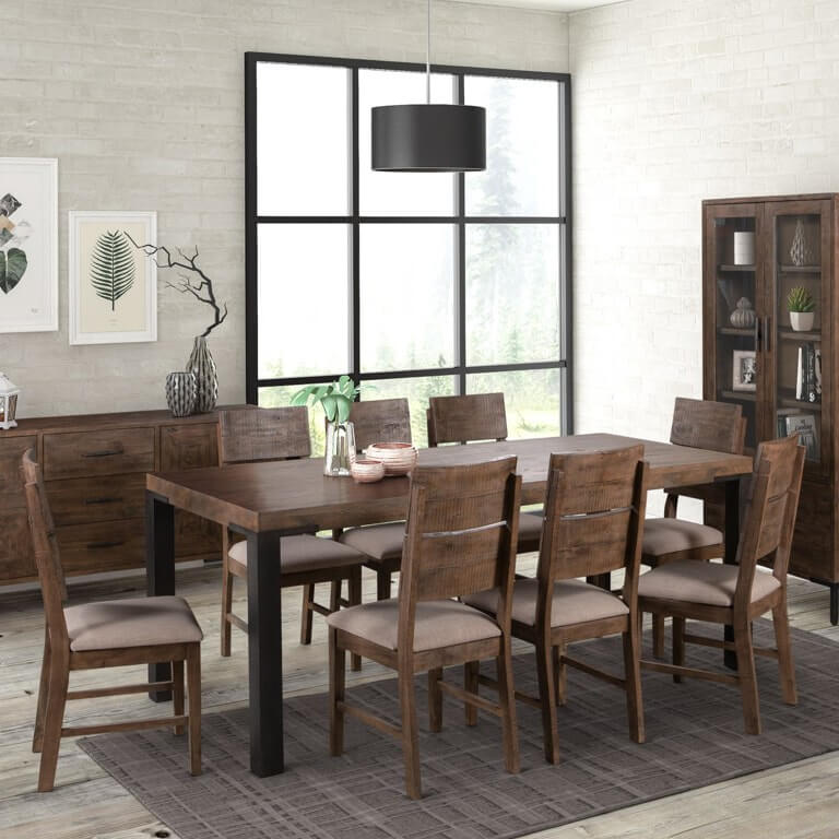 Seville 1.6m Fixed Dining Set