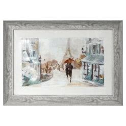 A Walk in Paris Framed Picture