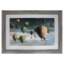 Air Balloons Framed Picture