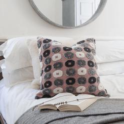 Retro Vintage Pink Cushion