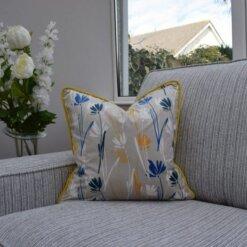 Mustard Flower Cushion