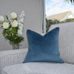Soft Navy Cushion