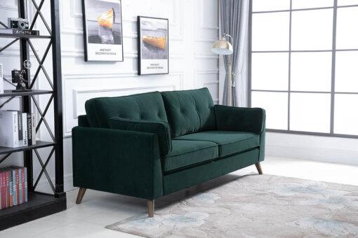 Zurich Green 3 Seater