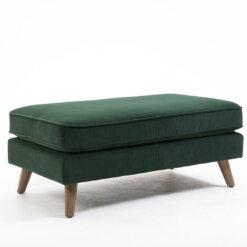 Zurich Green Footstool