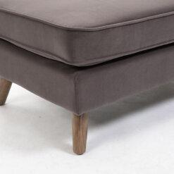 Zurich Grey Footstool