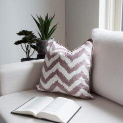 Chevron Taupe Cushion