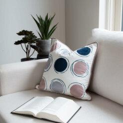 Ethnic Green Cushion