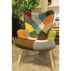 Patchwork 1 Seater Armchair