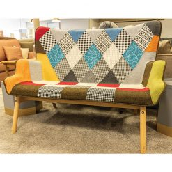 Patchwork 2 Seater Armchair