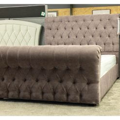 Louisa Fabric Bed Frame