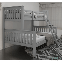 Hugo Triple Bunk Bed Grey