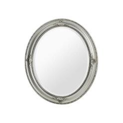Rustic Vintage Wall Mirror Silver