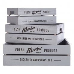 Set of 3 Groceries Crate