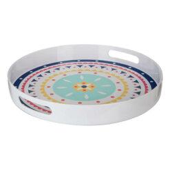 Mimo Bazaar Round Tray