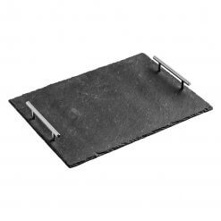 Slate Tray with Handles
