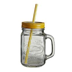 Mason Jar Yellow