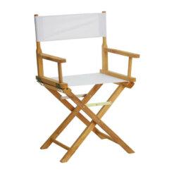 Coppola White Directors Chair