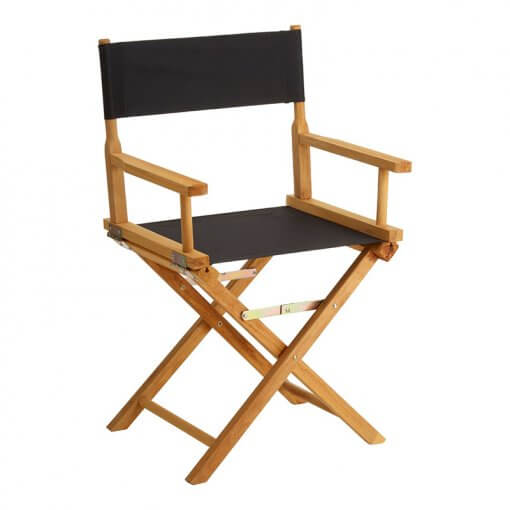 Coppola Black Directors Chair