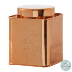 Chai Copper Tea Canister