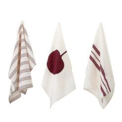Cherry Kitchen Towel Set of 3