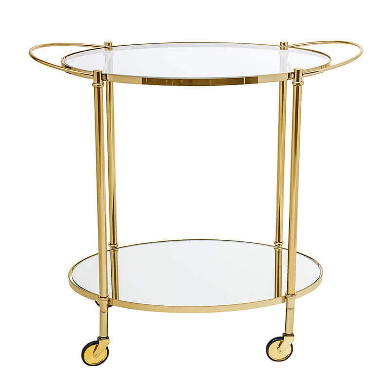 Fine Bar Table Gold