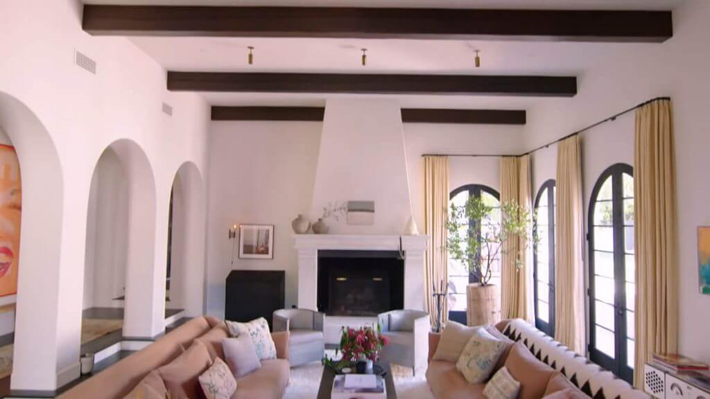 Kendall Jenner Home - Living Area