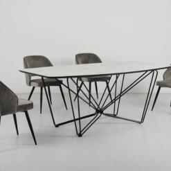 Sutton Grey Dining Chair