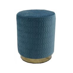 18132 Blue Footstool